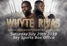 Dillian Whyte vs Oscar Rivas.